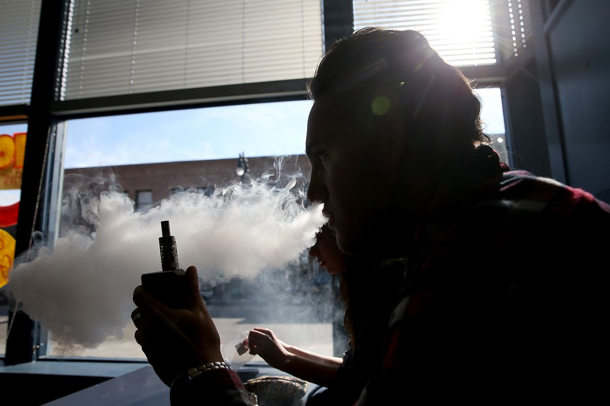 E Cigarettes With More Nicotine May Make Teens Vape More