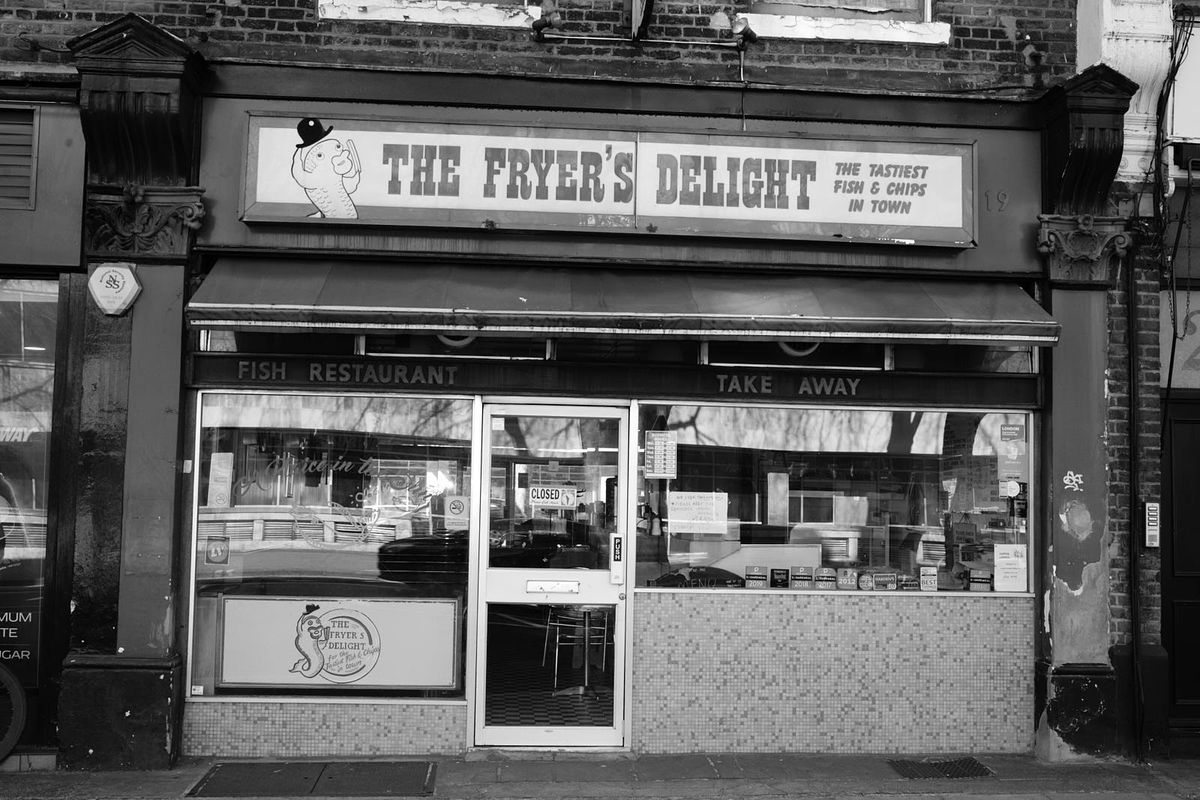 The Fryer's Delight, one of London's best fish and chip shops