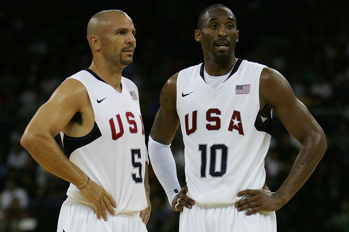 on sale 9b7d5 98f0d Jason Kidd on Kobe Bryant: On and off the court, he's a ...