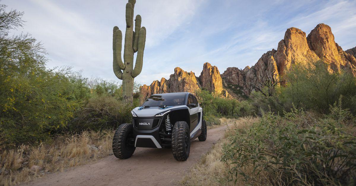 Nikola's off-road EV is a high-tech speed demon - The Verge 6