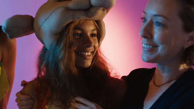 Helena Howard and Molly Parker in Madeline's Madeline