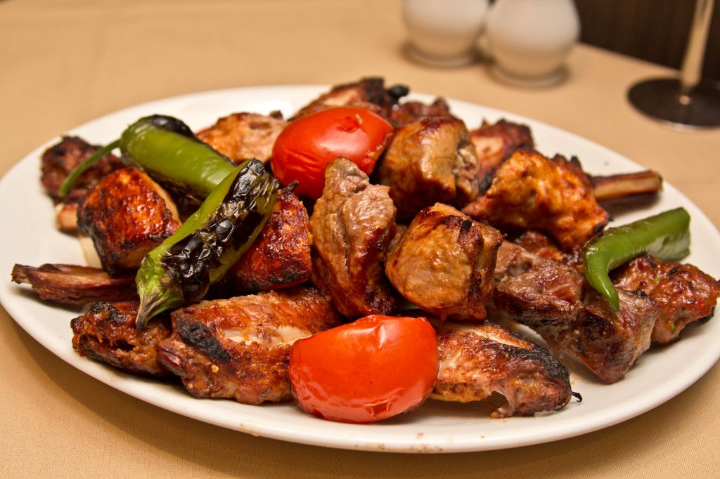 Mixed grill at Meze Mangal, a Turkish ocakbasi and one of the best places to eat in Lewisham
