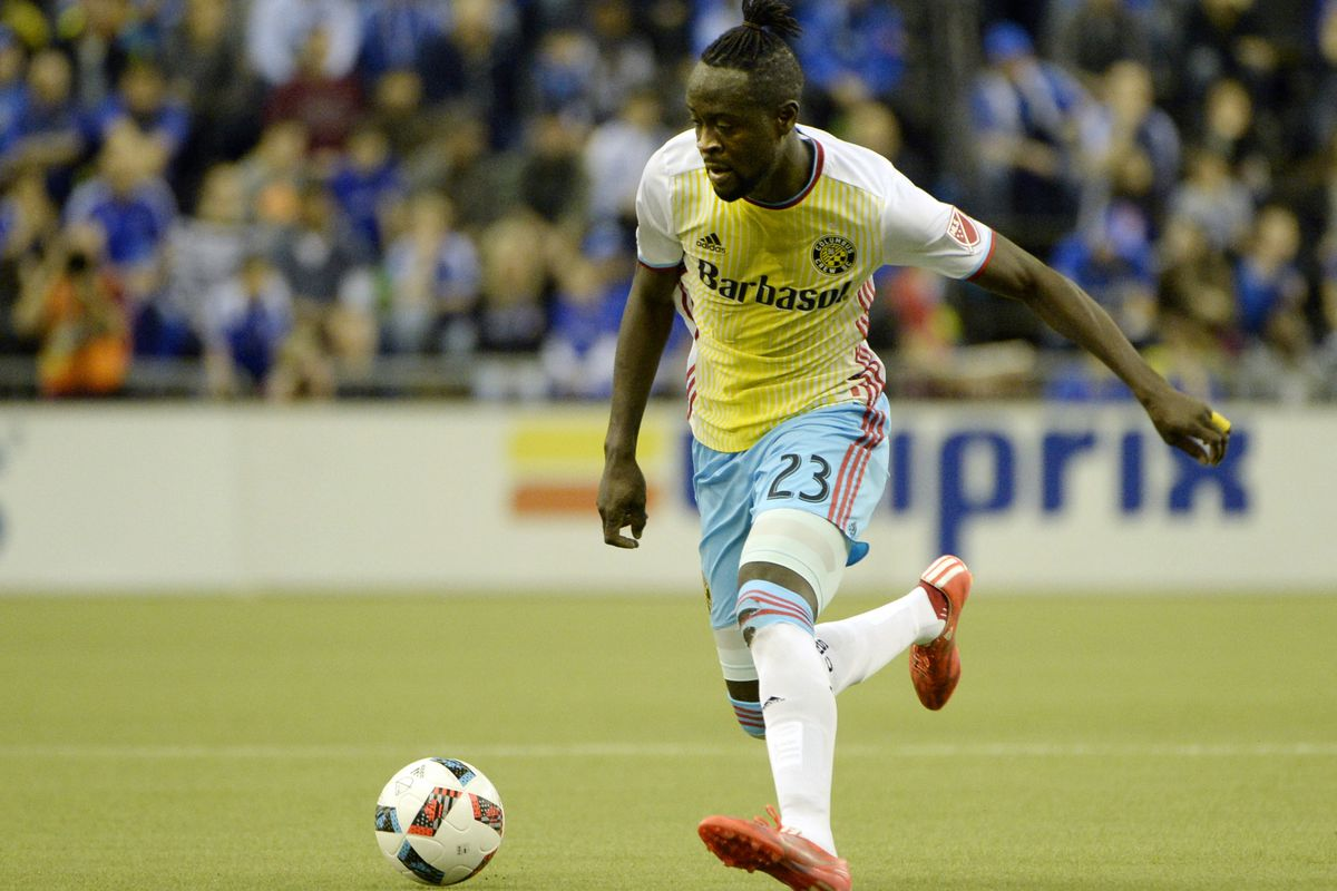 Kei Kamara has one goal through five games as Columbus' attack continues to come up empty.