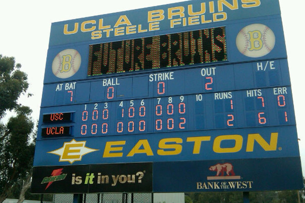 UCLA took down the Trojans in dramatic fashion to complete the series sweep (Photo Credit: Mike Garza)