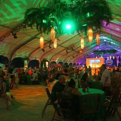 Tent at Red Hot Night