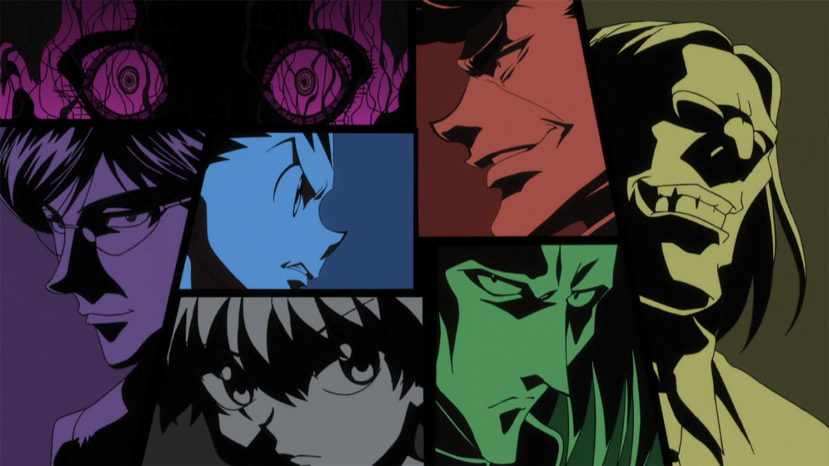 solid color blocks of determined faces