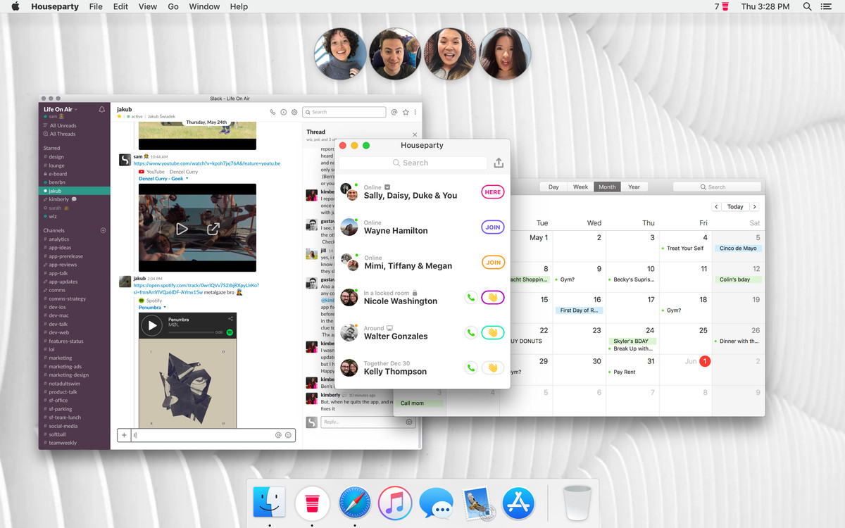 Houseparty brings its group video chat app to Mac - The Verge