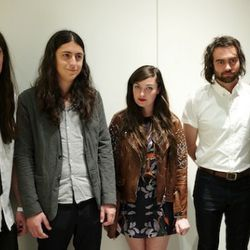 Rawk n roll with Cults at the Phillip Lim party. Photo by Chris Weeks