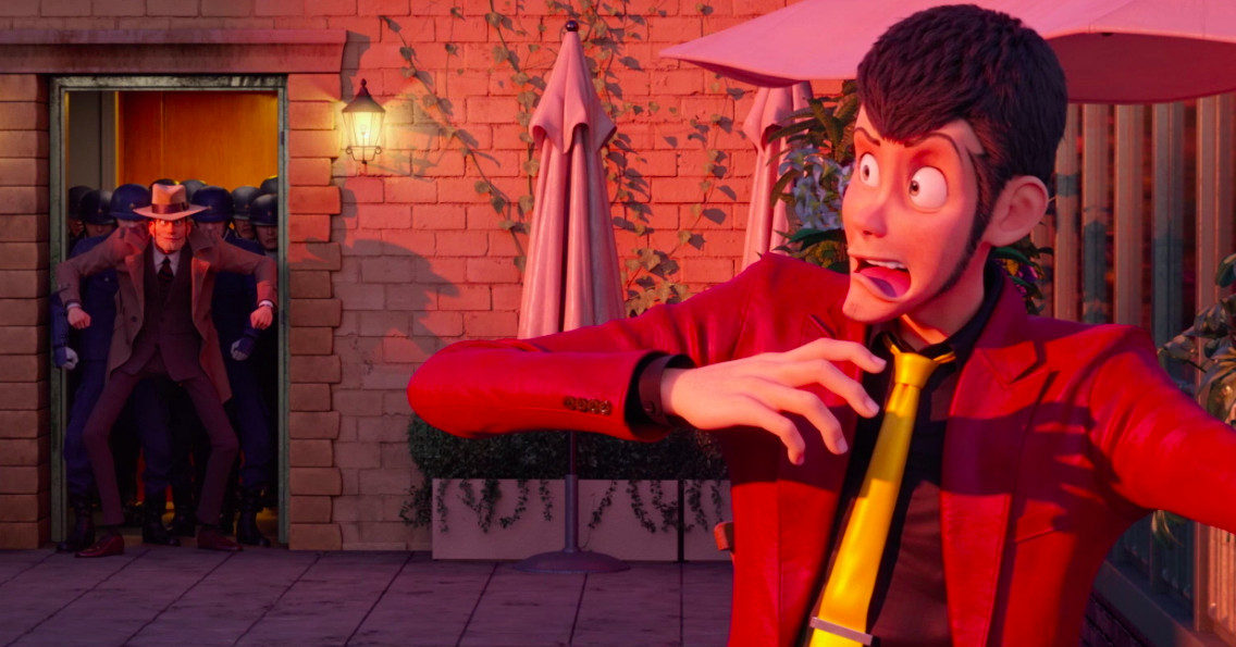 New footage from the first CG Lupin III movie lives up to the series -  Polygon