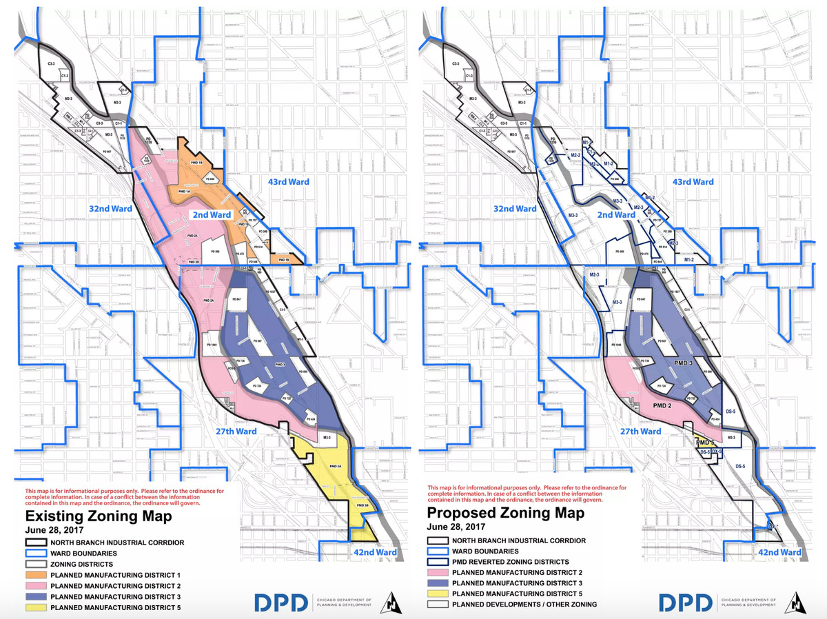 Chicago City Council Approves Sweeping North Branch Zoning Ordinance