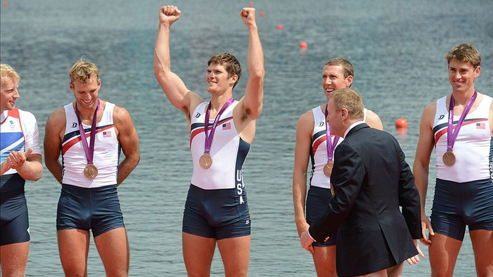 Rowing Coach Tells How An Olympic Crotch Shot Obscures