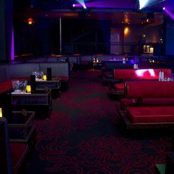 More VIP booths at Light Nightclub.