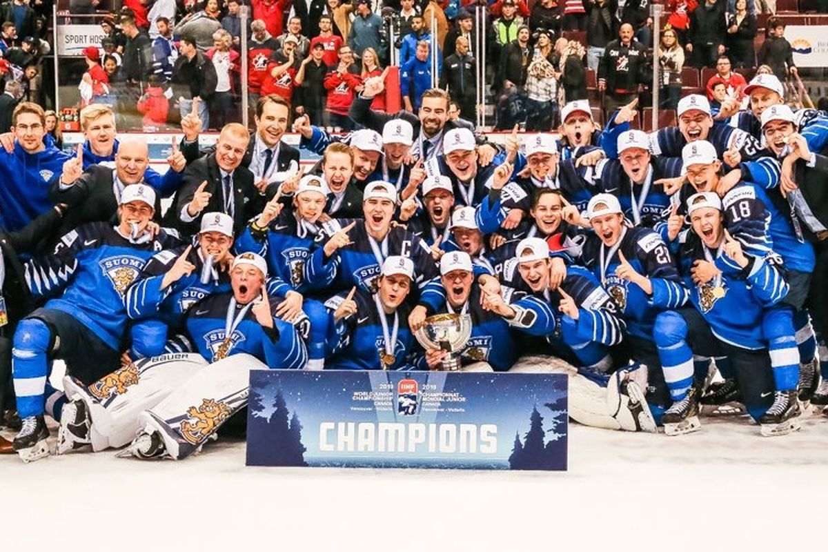 a1b58323d0b World Juniors Recap Day 9  Finland s third gold in six years puts them  among World Junior elite - Raw Charge