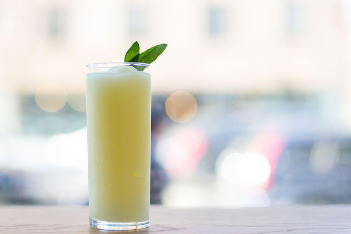 Momofuku Nishi's limoncello slushie