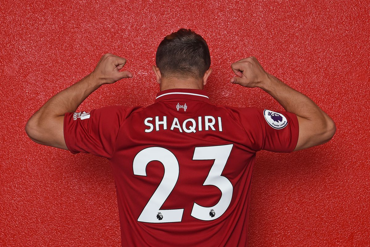 premium selection ceeed 7c272 Xherdan Shaqiri Opts to Wear Number 23 at Anfield - The ...