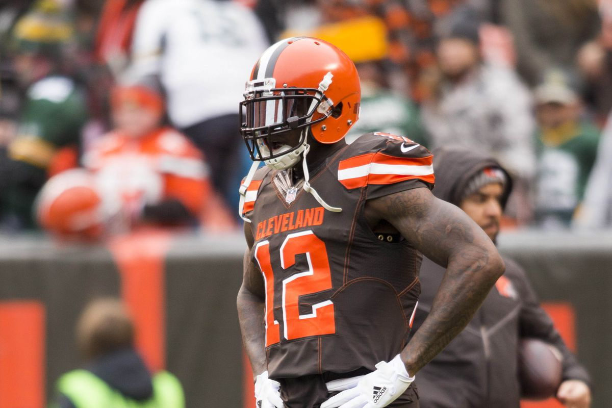 Browns WR Josh Gordon catches first TD since 2014