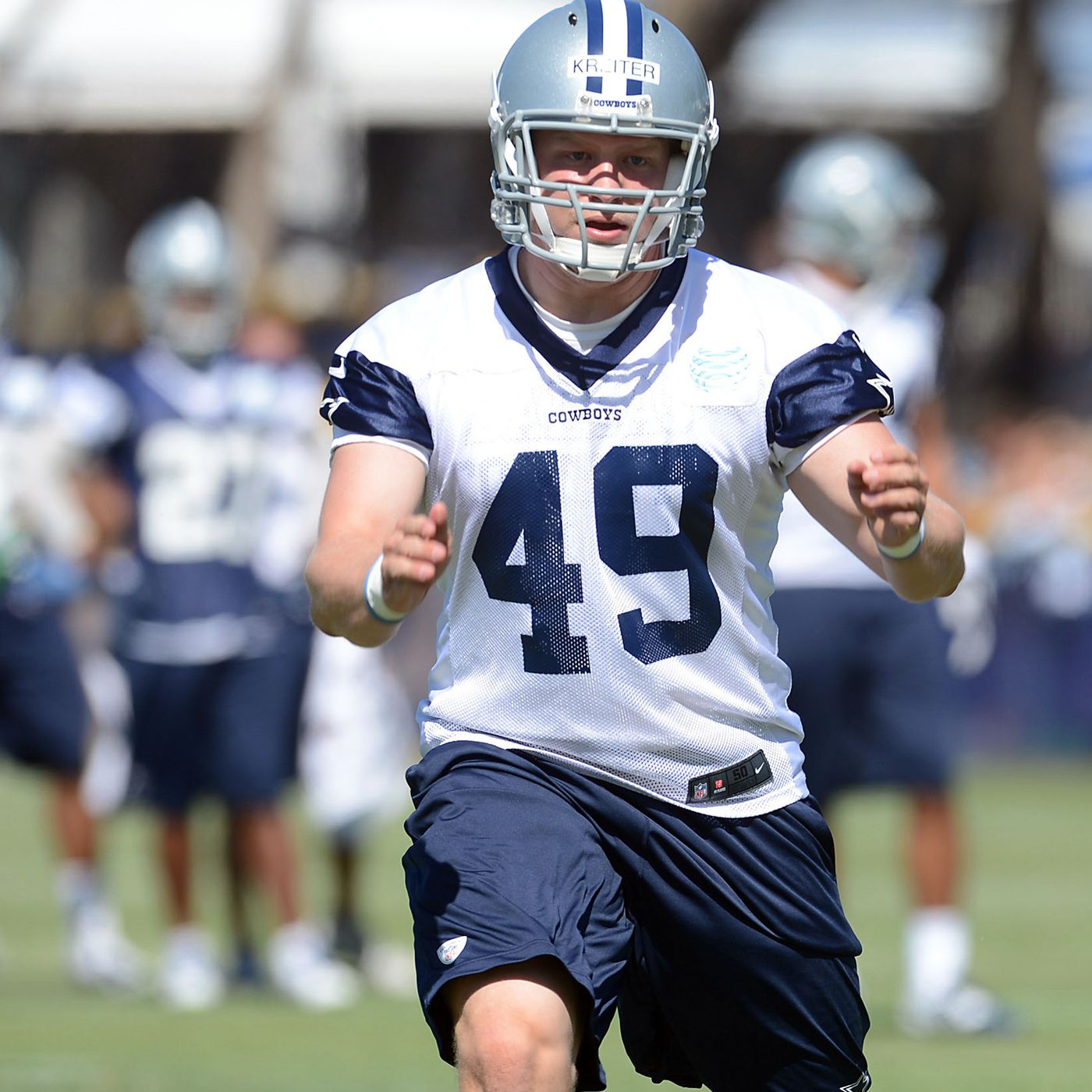 best service 1662b 81d04 Broncos sign long snapper Casey Kreiter to one-year deal ...