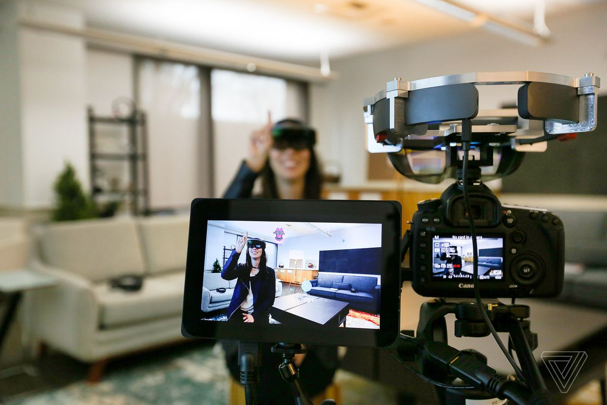 Microsoft just released a video-capture hack for HoloLens