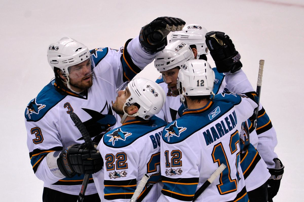 <em>The Sharks will be bringing out the big guns tonight for their preseason game against Vancouver.</em>