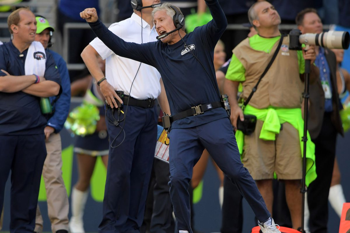 Order now and we'll include this wacky Pete Carroll inflatable arm-waving tube man for just $29.99
