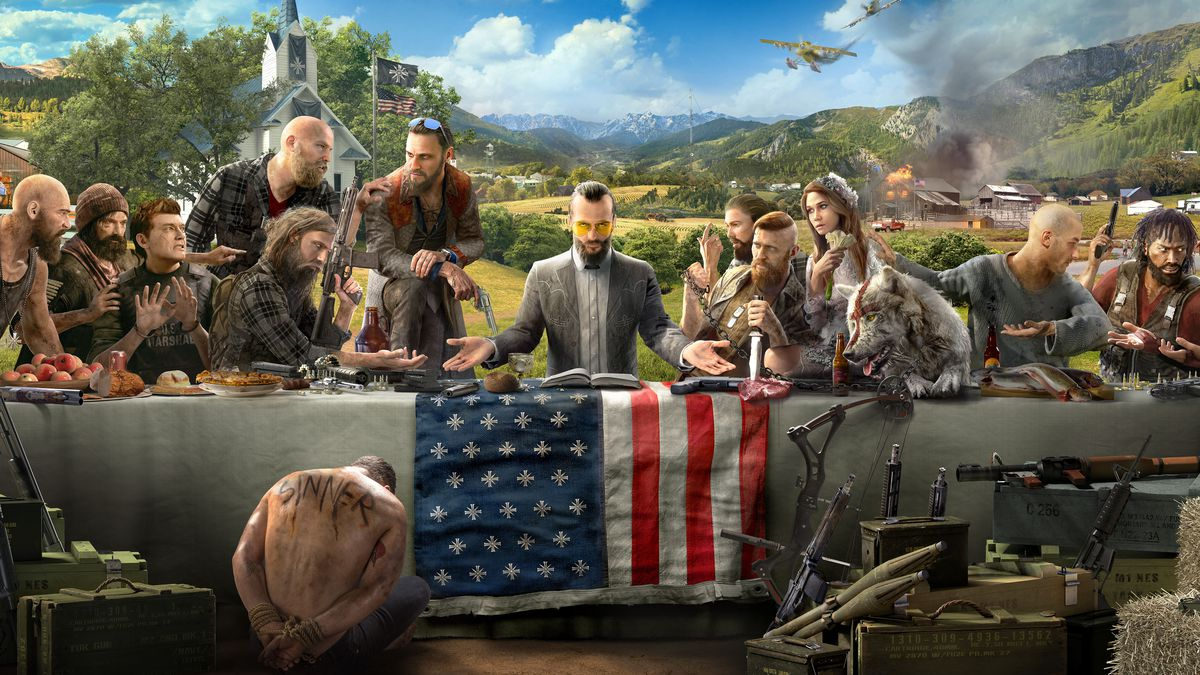 Far Cry 5 S Problematic Co Opting Of Nazi Imagery Ludoc G