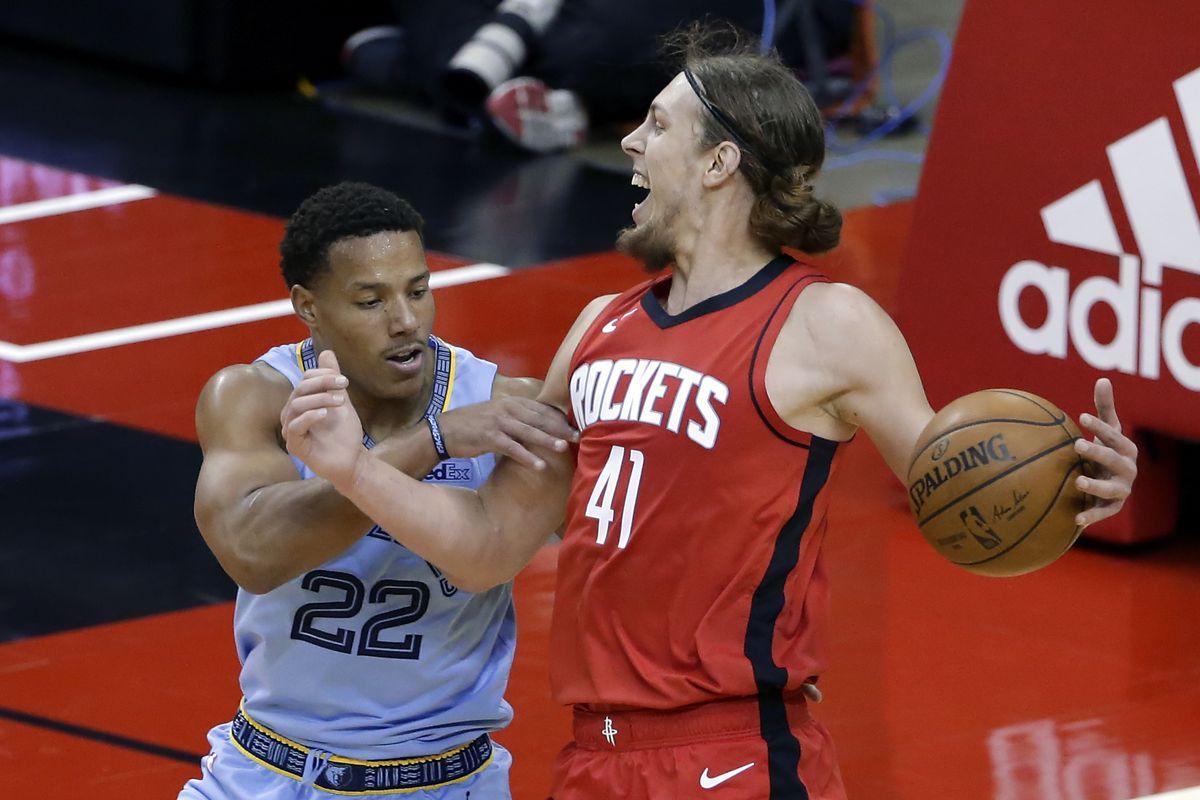 NBA: Memphis Grizzlies at Houston Rockets