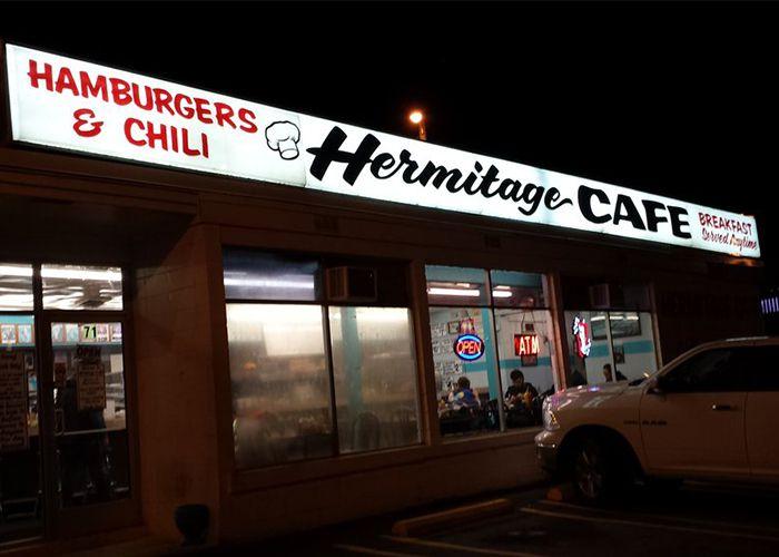 Yelp Hermitage Café