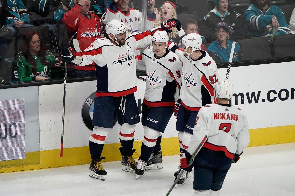 NHL: Washington Capitals at San Jose Sharks