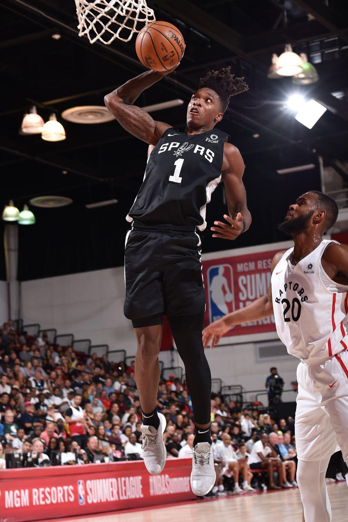 2019 Las Vegas Summer League - San Antonio Spurs v Toronto Raptors