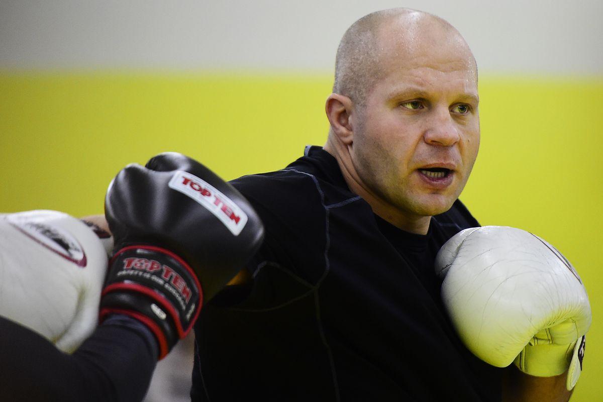 Russian MMA fighter Fedor Emelianenko gives masterclass in Vladivostok