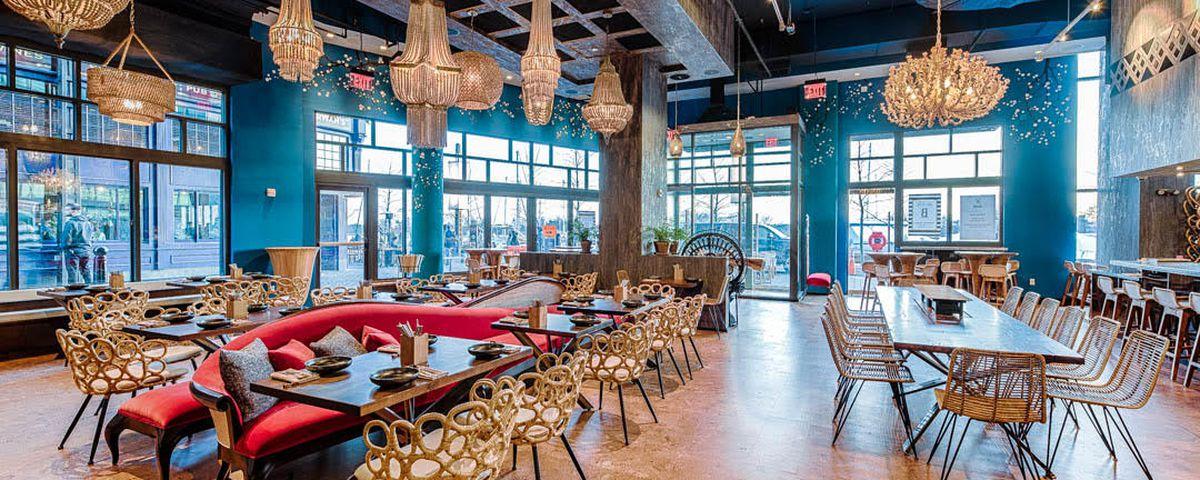 Look Inside Southwest S Transportive New Asian Restaurant