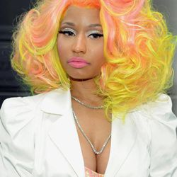 """""""American Idol"""" Season 12 judge Nicki Minaj arrives for day one auditions at Jazz at Lincoln Center on Sunday, Sept. 16, 2012 in New York."""