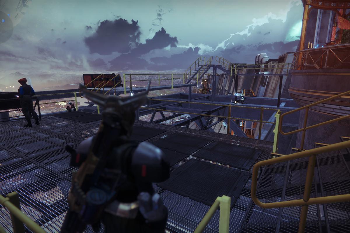 Destiny 2 tower construction