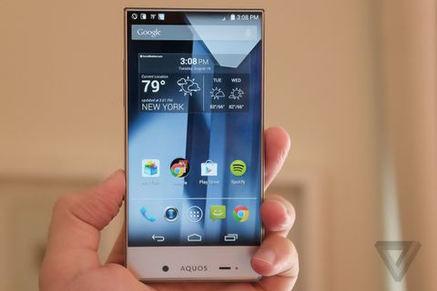 Sharp's new phone for Sprint looks like something out of a sci-fi