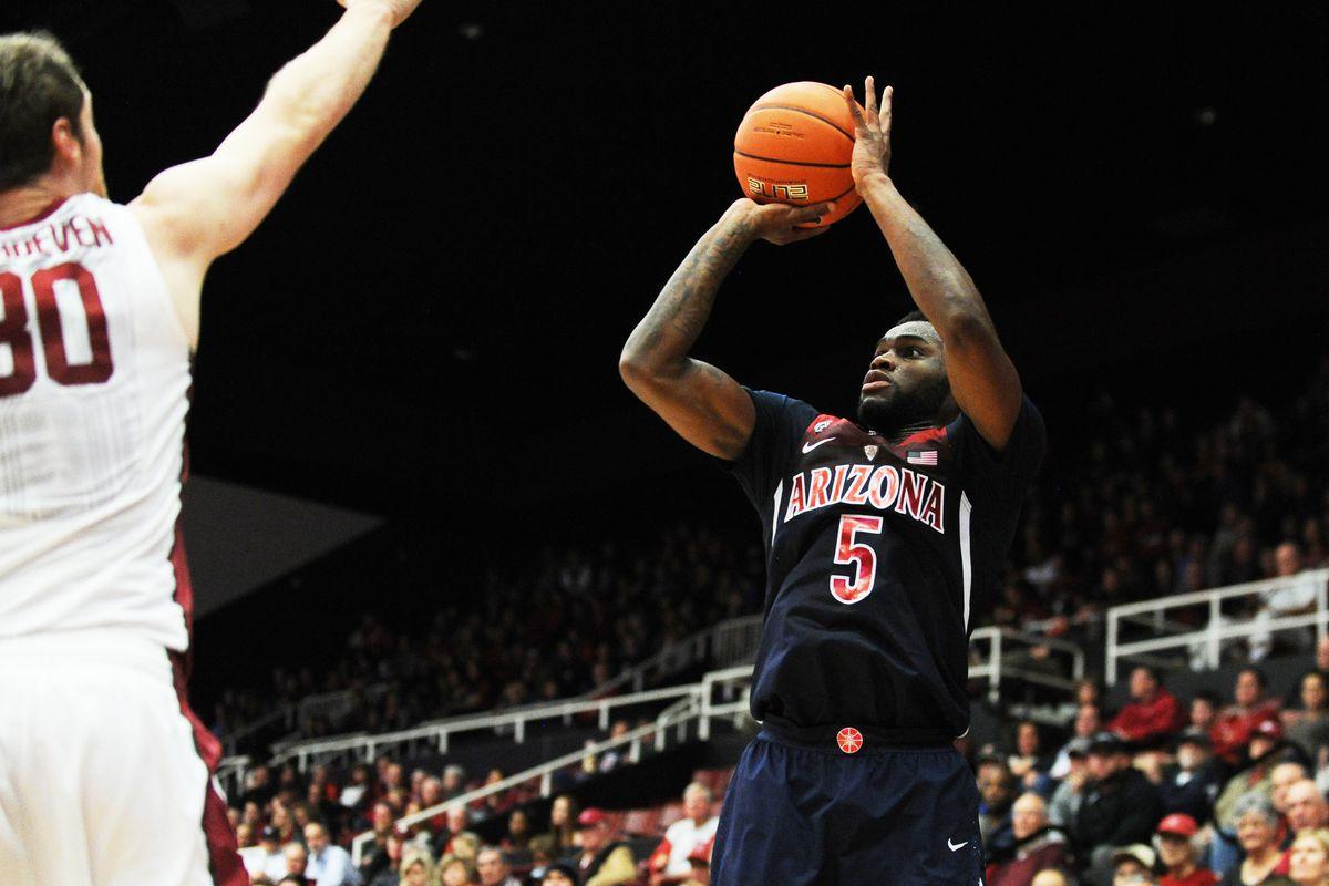 NCAA BASKETBALL: JAN 01 Arizona at Stanford