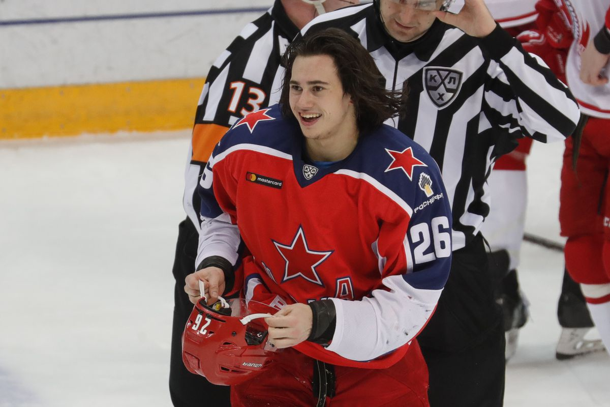 Kontinental Hockey League: CSKA Moscow 6 - 1 HC Vityaz