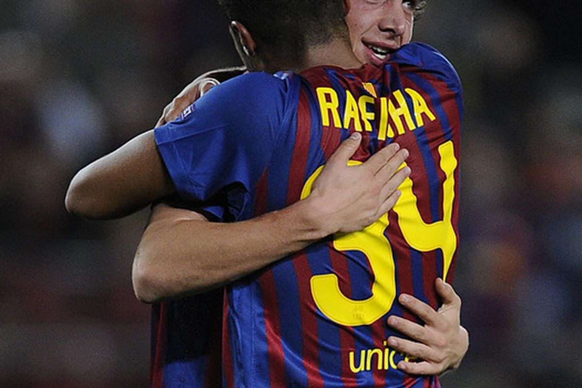 Both players in the picture appear to have a bright future.