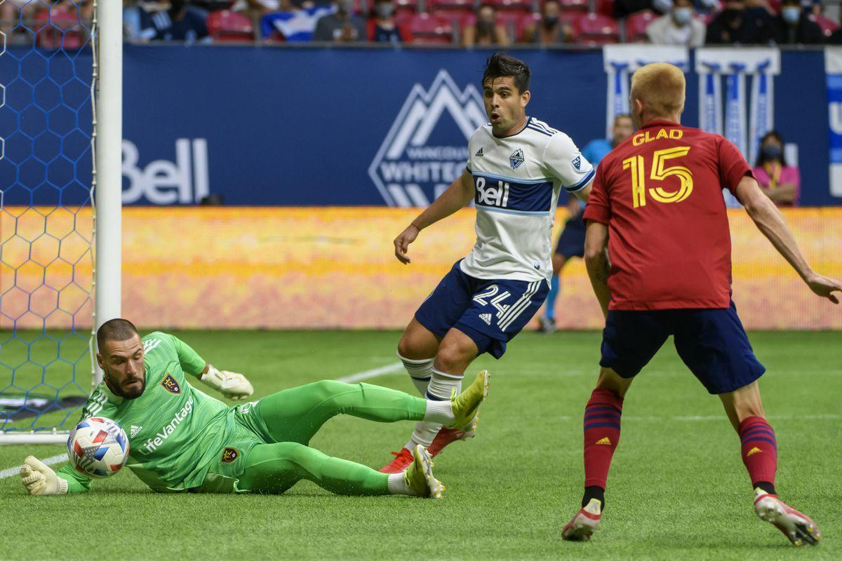MLS: Real Salt Lake at Vancouver Whitecaps FC