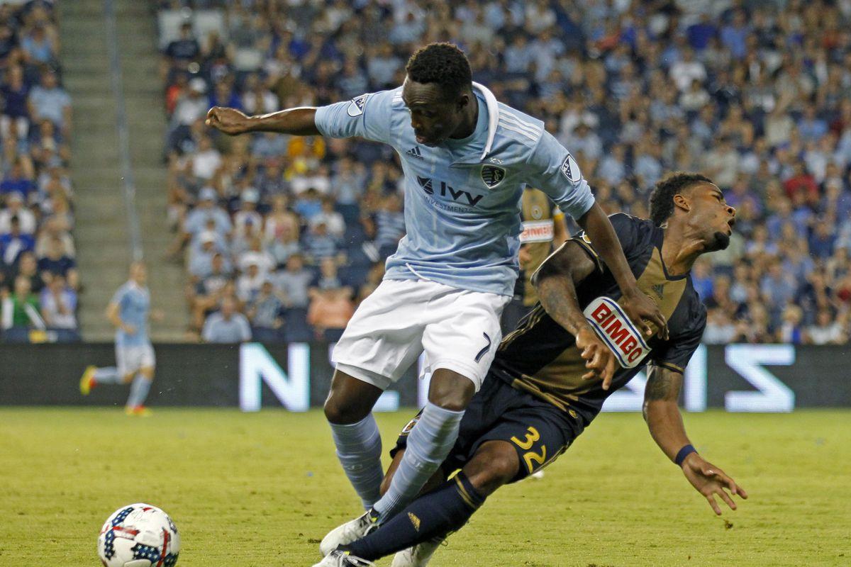 MLS: Philadelphia Union at Sporting KC