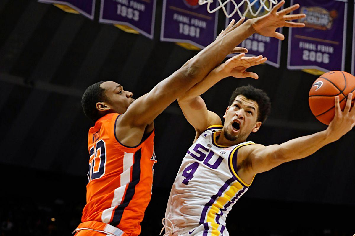 """<p zoompage-fontsize=""""15"""" style="""""""">NCAA Basketball: Auburn at Louisiana State"""