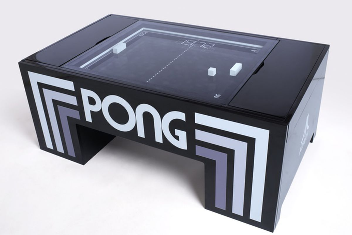 You Can Now Buy The IRL Pong Table On Kickstarter Verge