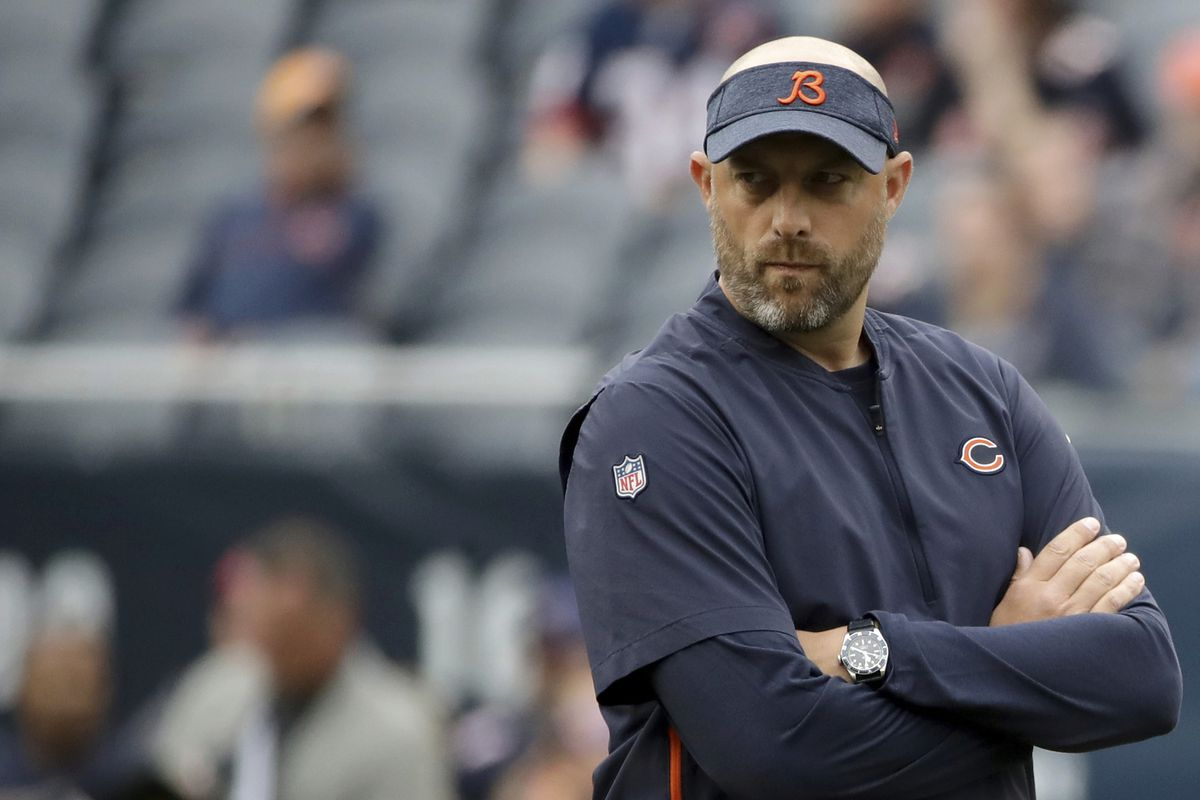 Matt Nagy is 25-14 as Bears head coach, but his defense has bailed him out repeatedly.