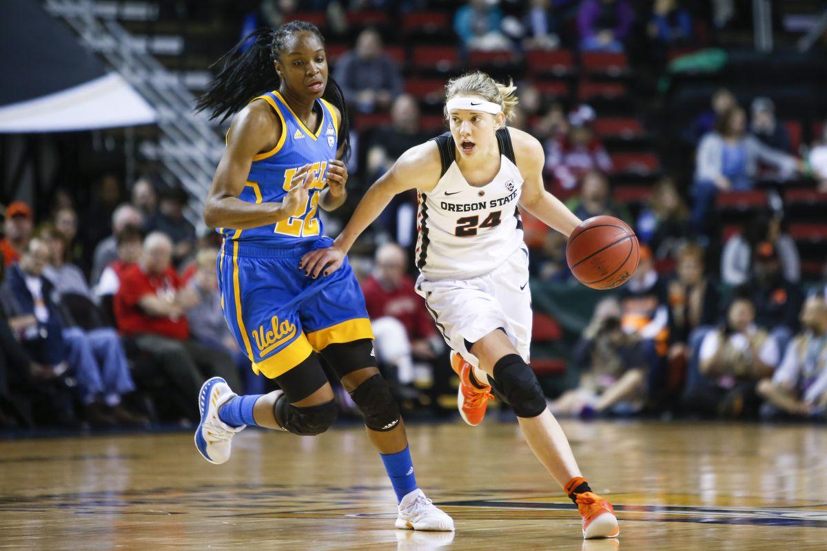 NCAA Womens Basketball: Pac-12 Conference Tournament-UCLA vs Oregon State