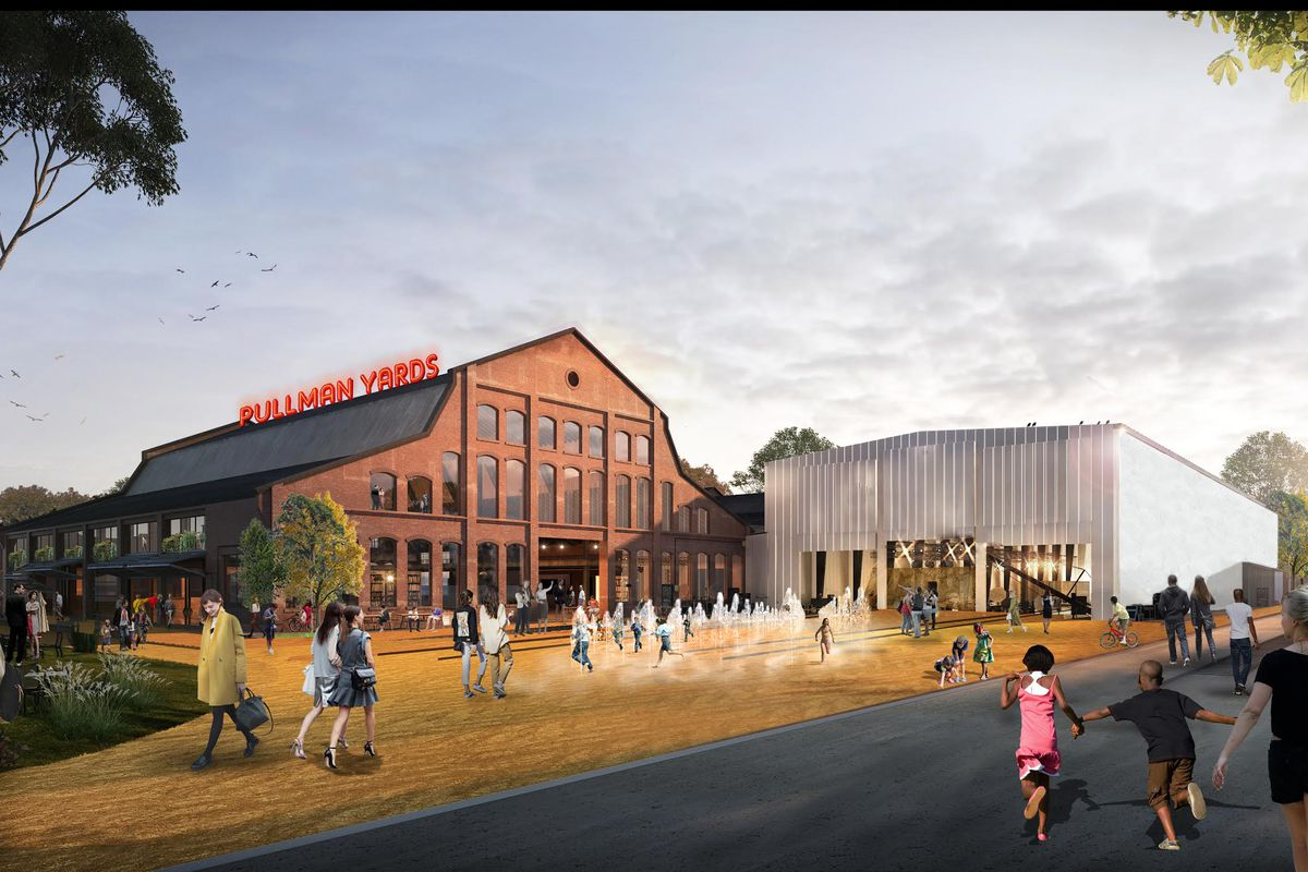 first look  pullman yard redevelopment vision unveiled in