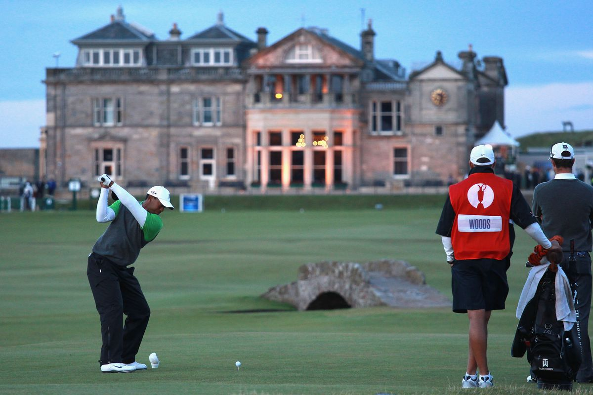 why a british open at st  andrews is the best event in