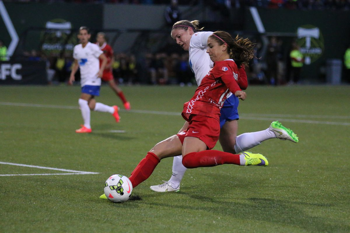 Portland will hope some late season heroics from Alex Morgan will once again help earn a playoff spot.