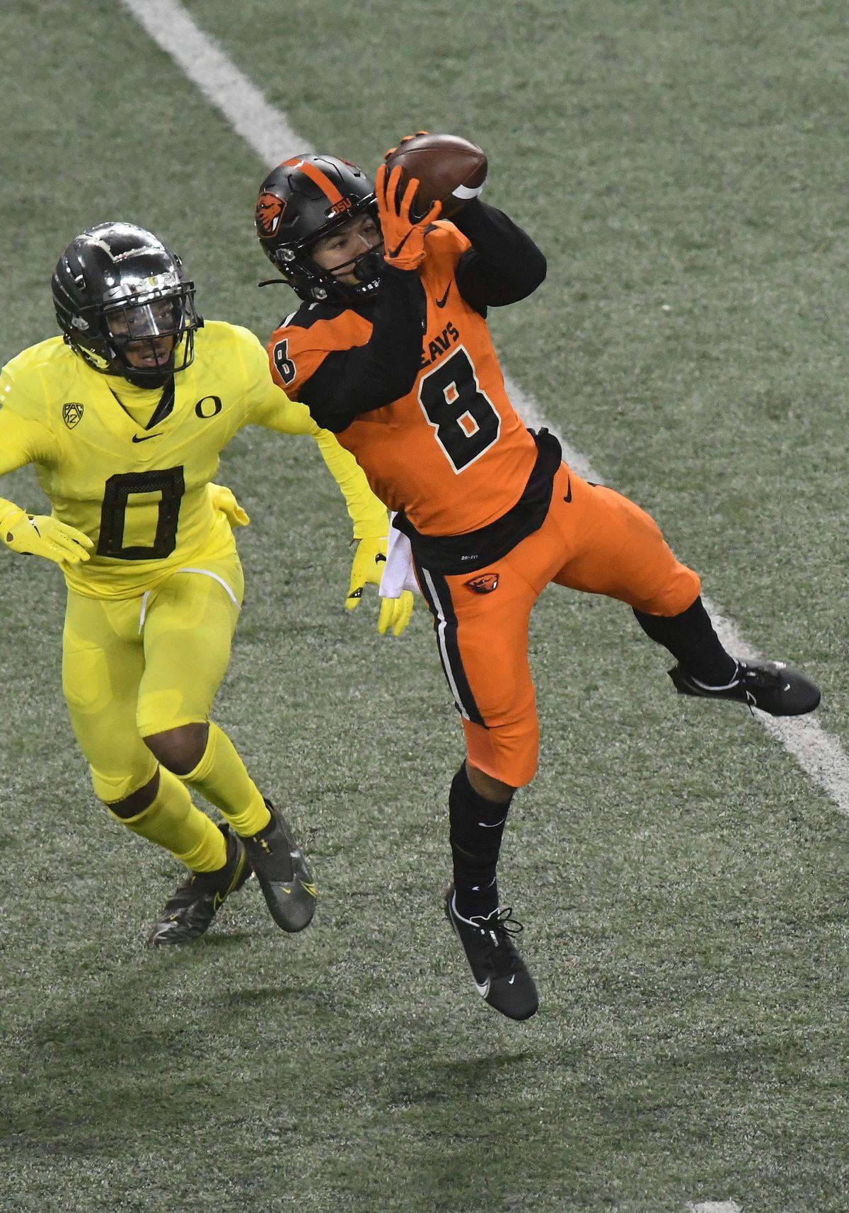COLLEGE FOOTBALL: NOV 27 Oregon at Oregon State