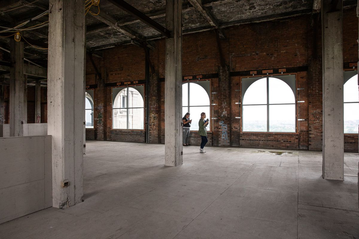 North Point Ford >> Michigan Central Station in 2018: A photo tour - Curbed ...