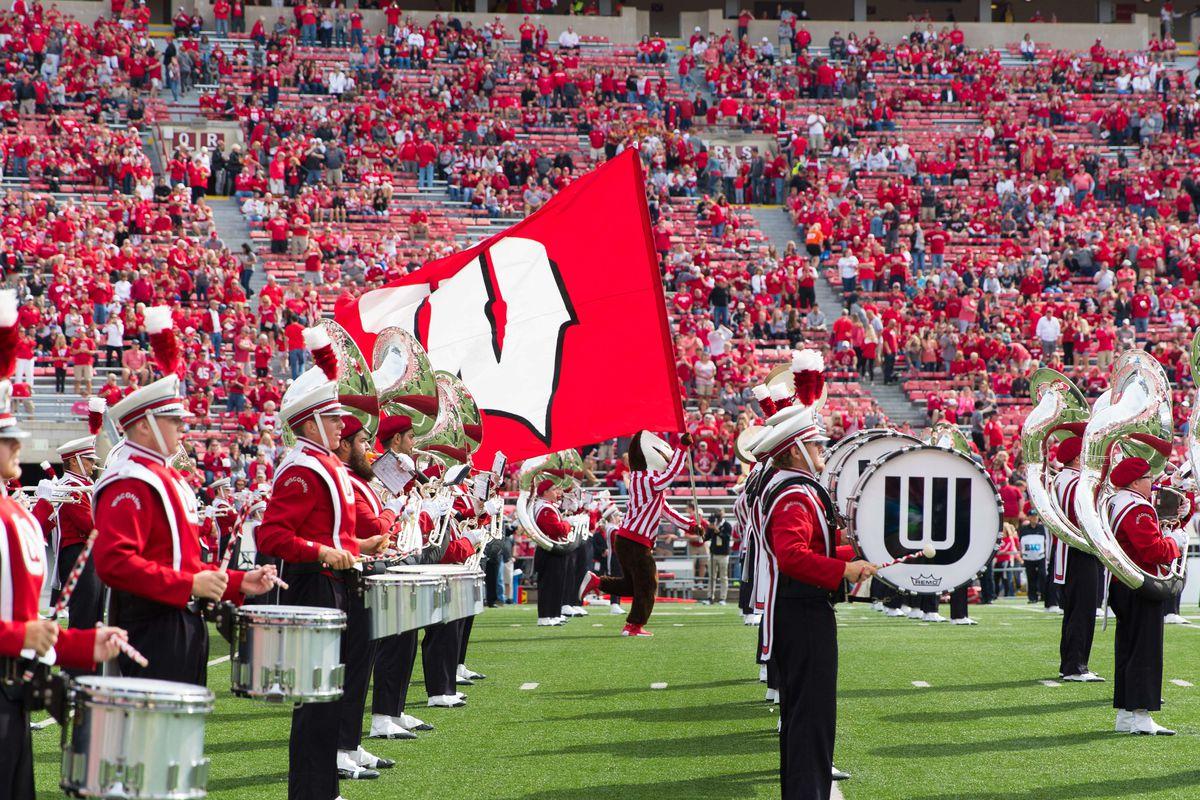 NCAA Football: New Mexico at Wisconsin