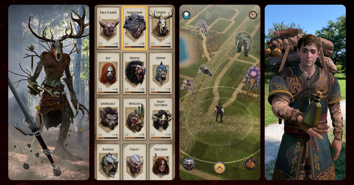 The Witcher's monster-hunting AR mobile game is out July 21st